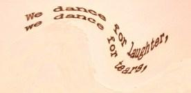 """Einstein – """"We dance…"""""""