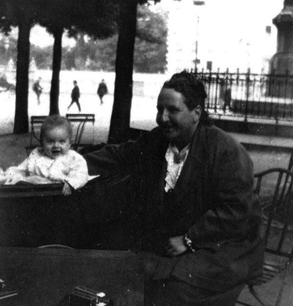 Stein's godchild Bumby - Hemingway's son