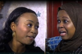 Nigerian mother and daughter