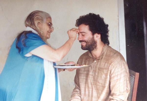 Sita Ma with Abhiyana