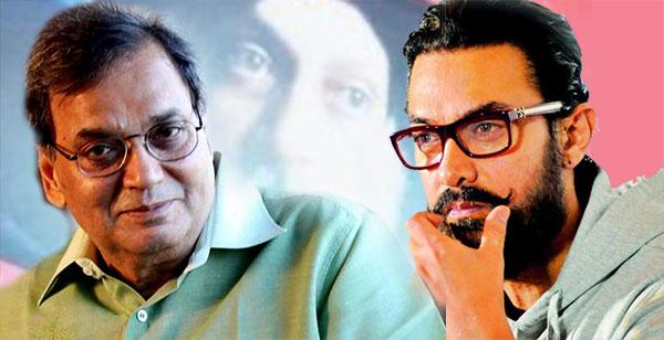 Subhash Ghai and Aamir Khan