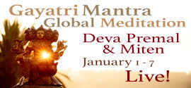 Gayatri Mantra Global Meditation with Deva Premal and Miten