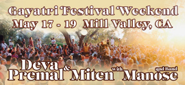 Mill Valley Gayatri Festival with Deva Premal and Miten