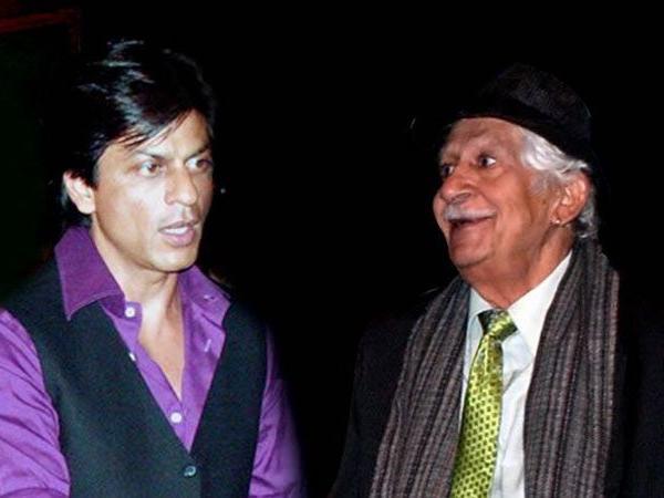 041 Shahrukh Khan First director colonel raj kapoor