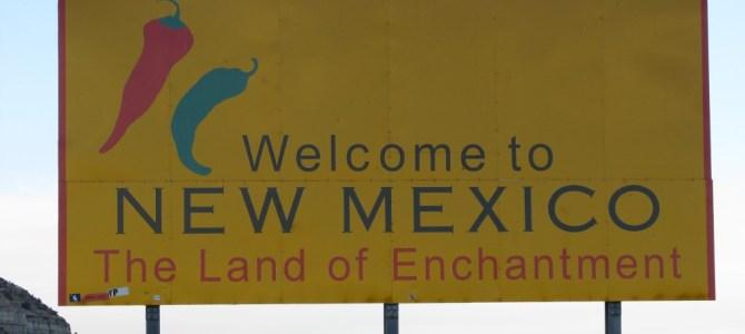 ימים ראשונים – מאריזונה לניו מקסיקו