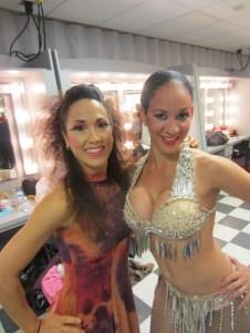 Behind the scenes of Oshun Wings Creadora Directora Coreografa Bailarina profesional Maritza Rosales 02