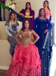 Quinceaneras sweet sixteen eighteen Bodas Aniversario Eventos coreografa profesional Maritza Rosales 016