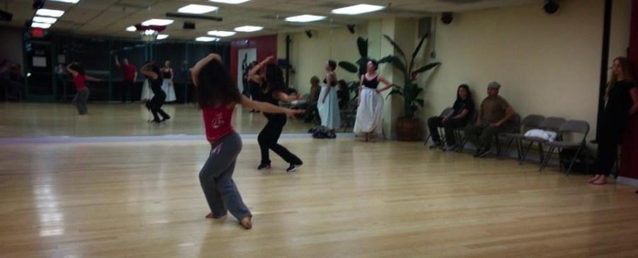 Rehearsal of the show The Oshun Wings Ensayos de Las Alas de Oshun Creadora Director Coreographer Bailarina Profesional pro emotions movement Maritza Rosales 07