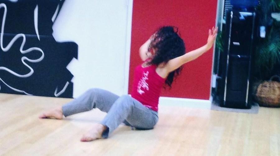 Rehearsal of the show The Oshun Wings dancing expressing Creadora Directora Coreografa Bailarina Profesional pro emotions movement Maritza Rosales 06