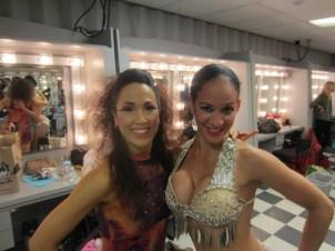 Tras Escena de Las Alas de Oshun Creadora Directora Coreografa Bailarina Profesional Maritza Rosales 01