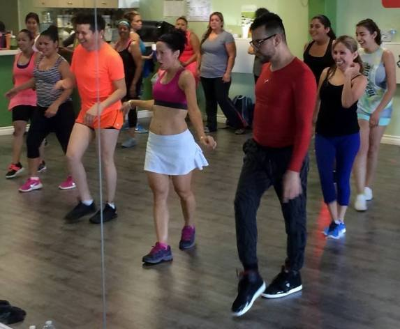 Boombafro Master Class por Maritza Rosales Bailarina Instructora Coreografa Creadora y Directora Profesional de este estilo de clase AfroCubano Latino Cardio Tonificacion Yoga Meditacion 014
