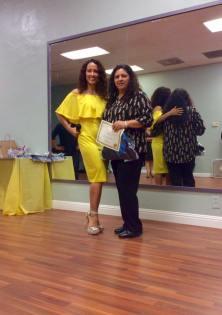 Aniversario Oshun Wings Certificado de Boombafro master class Directora fundadora Maritza Rosales 27