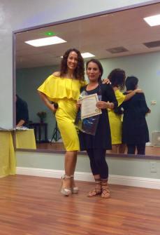 Anniversary Oshun Wings Certificate de Boombafro master class Director founder Maritza Rosales 14