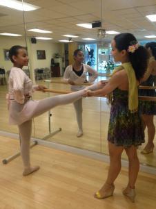 Ballet Clasico tecnica Cubana bailarina profesional Maritza Rosales 02