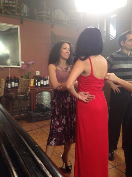 salsa dancer maritza rosales comercial shoot director roman wyden producer alex solomons wyden creable films mirj gschwind 23