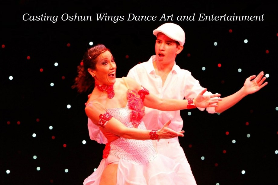 Audiciones de baile Casting Oshun Wings Dance art and entertainment Maritza Rosales Professional Choreographer and dancer