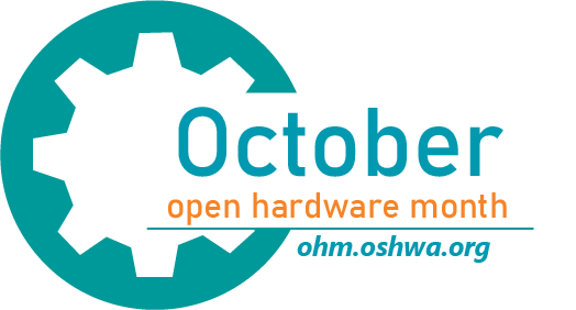Open Hardware Month logo