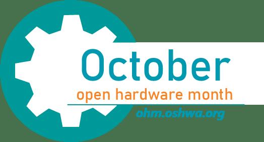 Open Hardware Month logo