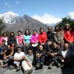 Trekkers to Nepal