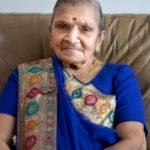 Savitaben Jivraj Depar Shah (16th April 1937 – 27th April 2020)