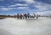 The official opening of Oceanside's fifth skate park.