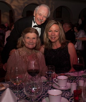 Ann and Bruce Mortland with Pamela Smith