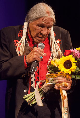 Saginaw Grant at the Oceanside International Film Festival
