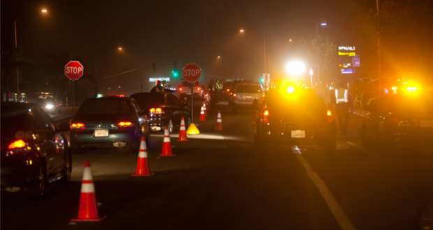 Oceanside DUI-Driver License Checkpoint Planned for October