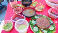 A wide variety of Salsa's were available for tasting at the contest
