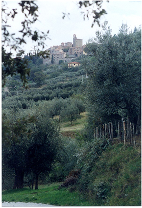 Panicale is but one of the scores of Umbrian hilltop towns that preserve the spirit of Italy. -- Cecil Scagione photo