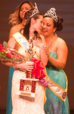 Kylea McKenzie and Miss Oceanside-2014, Victoria Troupe