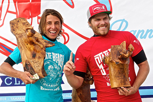 State Beach Cup Winner Gabe Garcia with Ricky Whitlock (courtesy photo)