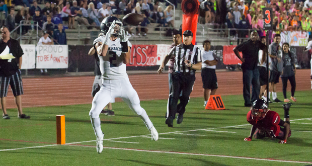 Kyle Phillips TD reception early in the second quarter.