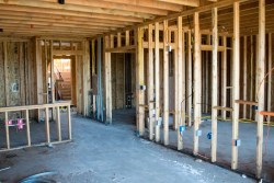 The one bedroom under construction
