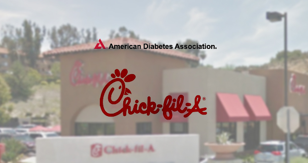 chick fil a in san diego is supporting american diabetes