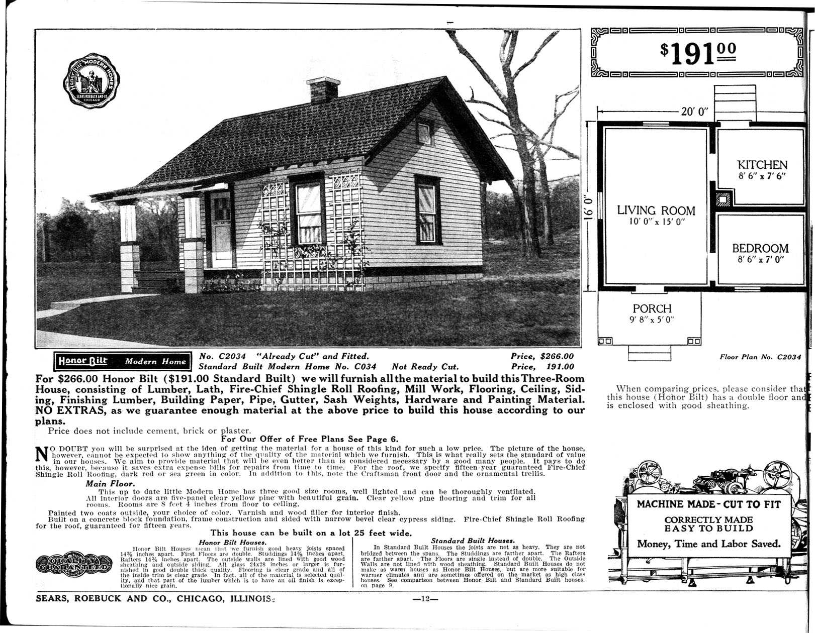 If You Grew Up During The Thirties And Forties, Chances Are You Lived In A  Mail Order House Sold And Delivered Via Rail From Sears, Roebuck U0026 Co., ...