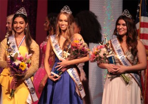Miss Oceanside Princesses: Ariana Tahmas, Bella Teta and Carmen Gagliardi