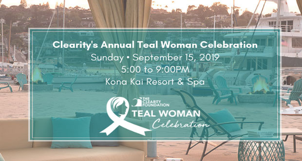 The Clearity Foundation To Hold Teal Woman Celebration September 15 Osidenews