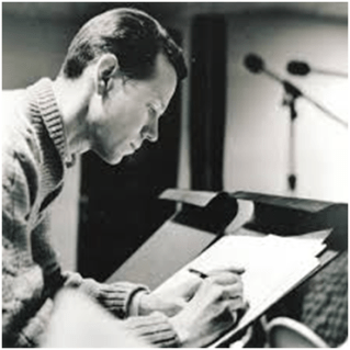 Hugh Martin, in 1944, writing his music