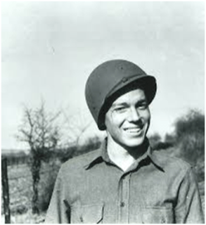 Private Hugh Martin in 1944