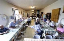Xuntanza de antigos alumnos das Ermitas no santuario