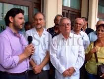 O secretario xeral de Emigración, na Habana