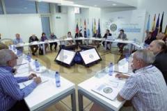 Reunión cos membros da Comisión Delegada do Consello das Comunidades Galegas no Exterior