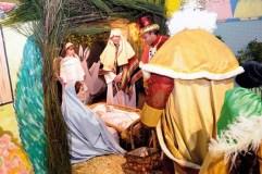 Visita dos Reis nunha noite máxica