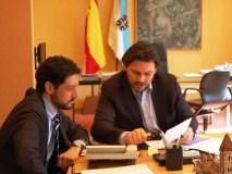 O secretario xeral de Emigración reúnese con Moisés Blanco