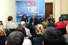 Reunión do comité provincial electoral do PSdeG no Barco