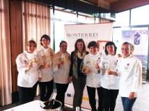 """A D.O. Monterrei, en """"Cociñeiras con estrelas"""""""