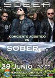 Sôber tocará en Sober o 28 de xuño