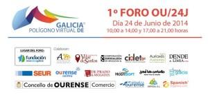"""I Foro """"Polígono Virtual de Galicia"""", en Ourense"""