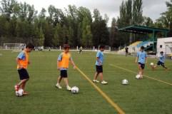 O campus de fútbol da Rúa celebra o X aniversario